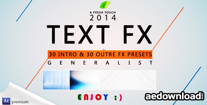 Text Fx Generalist