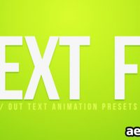 TEXT FX VOL.3 – AFTER EFFECTS PROJECT (FREE PLUGINS & PRESETS)