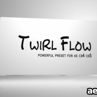 TWIRL FLOW PRESET – AFTER EFFECTS PRESETS (VIDEOHIVE)