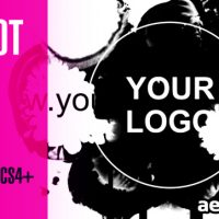 Videohive Ink Blot Logo Reveal 3129598 – After Effects Project Files