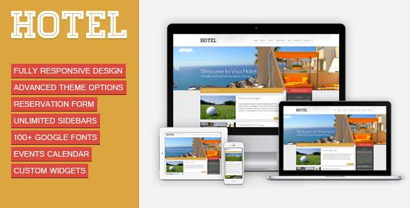Viva Hotel v1.9 – Premium Responsive WordPress Theme Free Download ...