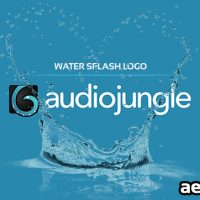 WATER SPLASH LOGO 2 (AUDIOJUNGLE)