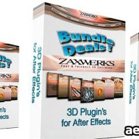 ZAXWERKS 3D PLUGINS BUNDLE FOR AFTER EFFECTS (JULY 2014)