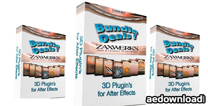 ZAXWERKS 3D PLUGINS BUNDLE