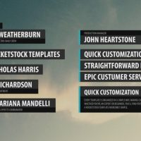 LABEL – LOWER THIRDS PACK – AFTER EFFECTS PROJECT (ROCKETSTOCK)