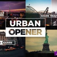 VIDEOHIVE URBAN OPENER – AFTER EFFECTS TEMPLATES