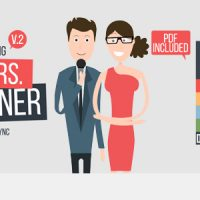VIDEOHIVE MR&MRS EXPLAINER – AFTER EFFECTS TEMPLATES