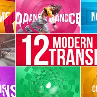 VIDEOHIVE MODERN TRANSITIONS – AFTER EFFECTS TEMPLATES