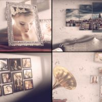 VIDEOHIVE VINTAGE PHOTO SLIDE – AFTER EFFECTS TEMPLATES