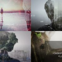 VIDEOHIVE 2D AND 3D DOUBLE EXPOSURE PACK – AFTER EFFECTS TEMPLATES