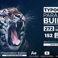 VIDEOHIVE BIG TYPO PARALLAX PRESENTATION BUILDER – AFTER EFFECTS TEMPLATES