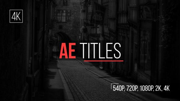 AE Titles