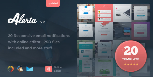 Alerta v11 20 responsive email notification online editor free alerta v11 20 responsive email notification online editor free download flashek Images