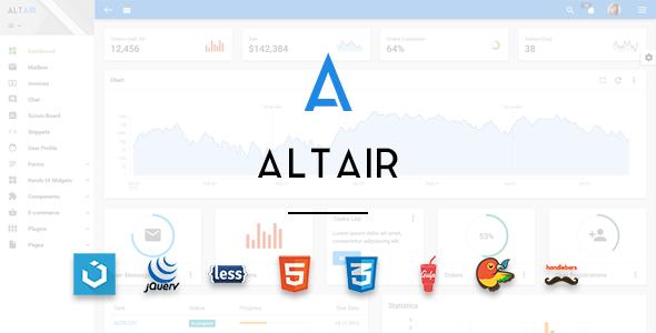 Altair V2 2 0 Admin Material Design Premium Template Free