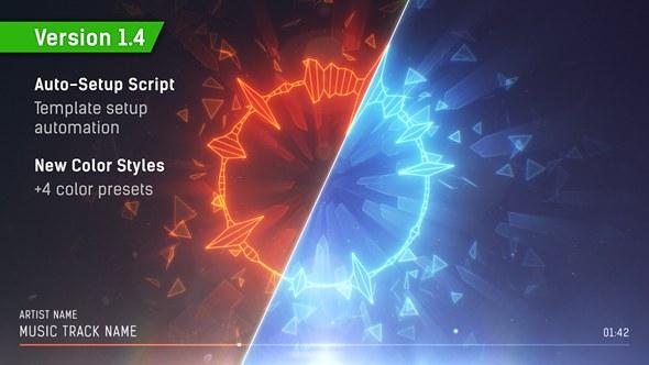 Videohive audio spectrum music visualizer free after effects videohive audio spectrum music visualizer maxwellsz