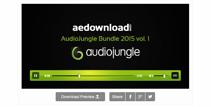 AudioJungle Bundle 2015 vol. 1