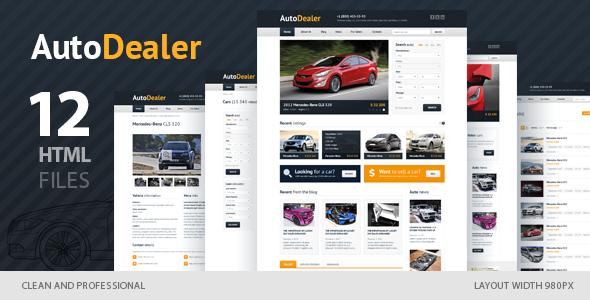 auto dealer car dealer html template free download free after