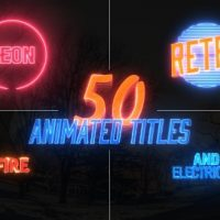 VIDEOHIVE AWESOME TITLE PACK – AFTER EFFECTS TEMPLATES