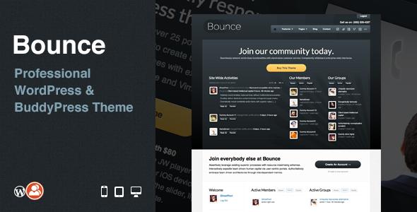 Bounce v2.6 – Multi-Purpose Business WordPress/BuddyPress Theme Free ...