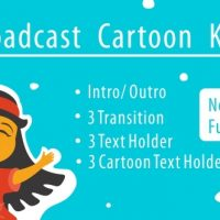 VIDEOHIVE BROADCAST CARTOON KIDS – AFTER EFFECTS TEMPLATES