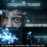 VIDEOHIVE CINEMATIC TEASER FREE – AFTER EFFECTS TEMPLATES