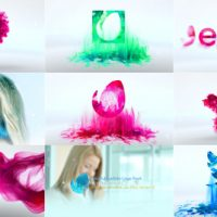 VIDEOHIVE COLORFUL PARTICLE LOGO PACK – AFTER EFFECTS TEMPLATES