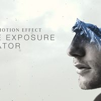 VIDEOHIVE DOUBLE EXPOSURE GENERATOR – AFTER EFFECTS TEMPLATES