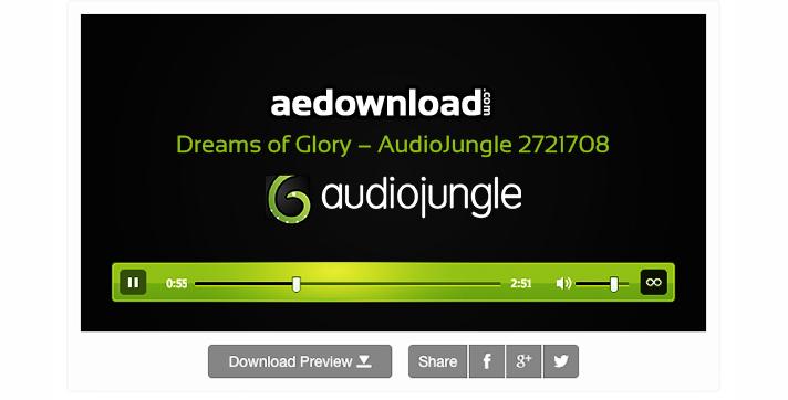 Dreams of Glory – AudioJungle 2721708