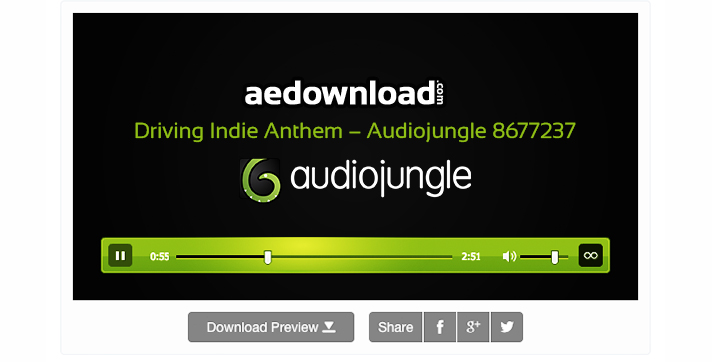 Driving Indie Anthem – Audiojungle 8677237