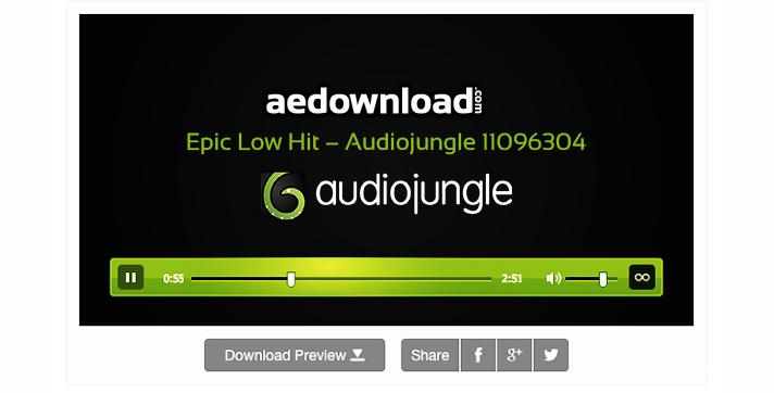Epic Low Hit – Audiojungle 11096304