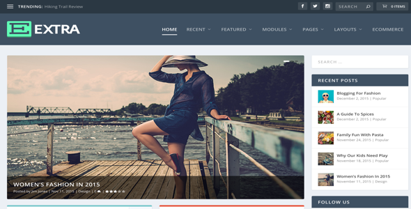 Extra v1.3 – WordPress Elegant Themes Free Download - Free After ...