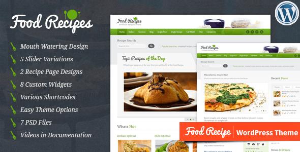 Food recipes v222 wordpress theme free download free after food recipes v222 wordpress theme free download forumfinder Images