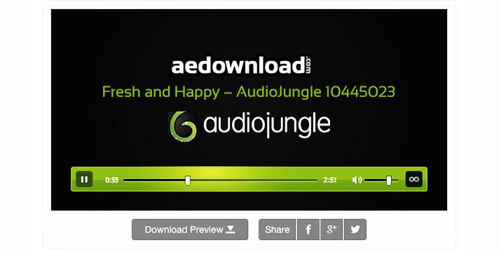 Fresh and Happy – AudioJungle 10445023