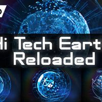 VIDEOHIVE HI TECH EARTH RELOADED / ELEMENT 3D – AFTER EFFECTS TEMPLATES