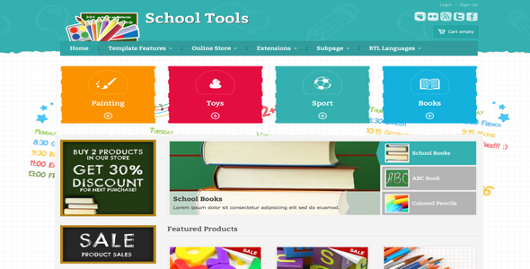 school template free download