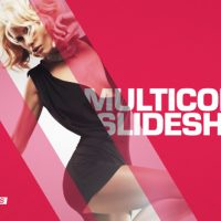 VIDEOHIVE MULTICOLOR SLIDESHOW – AFTER EFFECTS TEMPLATES