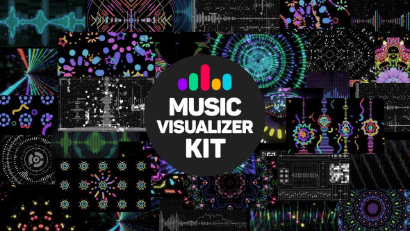 VIDEOHIVE MUSIC VISUALIZER KIT FREE - AFTER EFFECTS