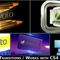 Videohive Broadcast Logo Transition Pack V2 4650191 free download