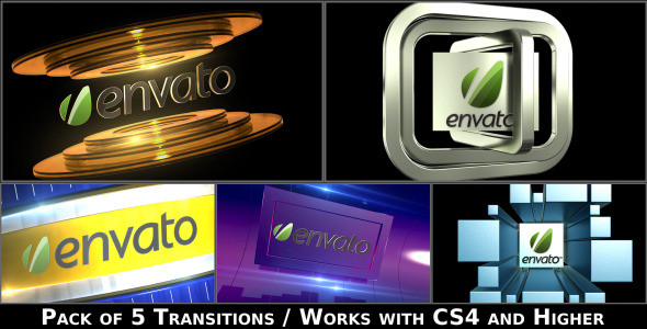 Broadcast Logo Transition Pack V2