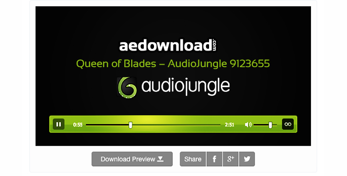 Queen of Blades – AudioJungle 9123655