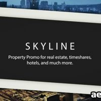 SKYLINE – PROPERTY PROMO – AFTER EFFECTS PROJECT (ROCKETSTOCK)