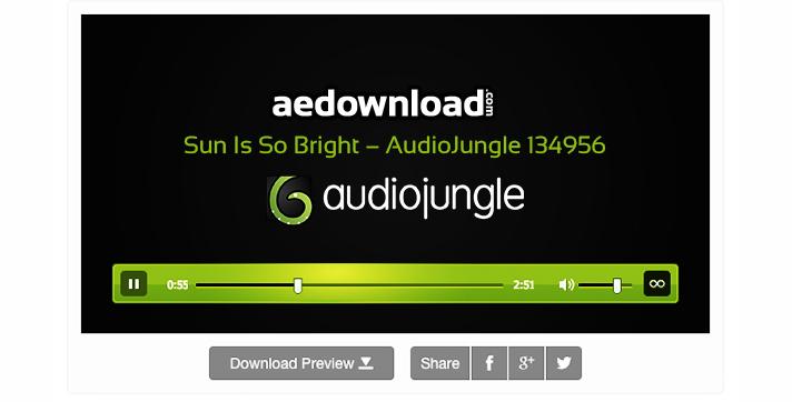 Sun Is So Bright – AudioJungle 134956