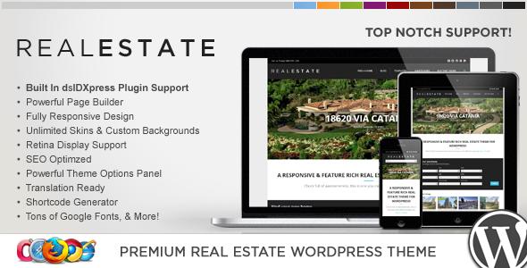 WP Pro Real Estate 5 v1.3.9 – Responsive WordPress Theme Free ...