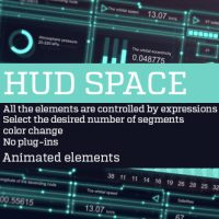 VIDEOHIVE HUD SPACE – AFTER EFFECTS TEMPLATES FREE DOWNLOAD