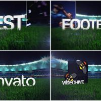 VIDEOHIVE FOOTBALL SOCCER FIELD OPENER – AFTER EFFECTS TEMPLATES