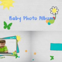 VIDEOHIVE BABY PHOTO – AFTER EFFECTS TEMPLATES