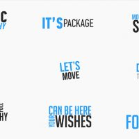 VIDEOHIVE KINETIC TYPOGRAPHY SUITE – AFTER EFFECTS TEMPLATES