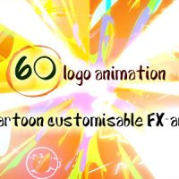 60 Quick Cartoon Logo Reveal Pack &128 Cartoon FX in 9 Packs 13026904 free
