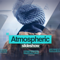VIDEOHIVE ATMOSPHERIC SLIDESHOW 13494191 – AFTER EFFECTS TEMPLATES