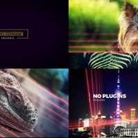 VIDEOHIVE LIGHTLINES | SLIDESHOW 14100480 – AFTER EFFECTS TEMPLATES